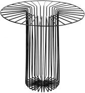 Serax Paglieta mand D36cm H32cm zwart