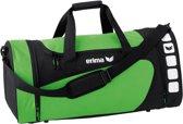 Erima Club 5 Line Sporttas Medium - Green/Zwart