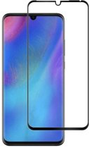 Huawei P30 - Full Cover Screenprotector - Zwart