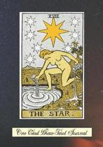 The Star One Card Draw Tarot Journal