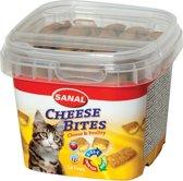 Sanal Cheese Bites - Kaas - Kattensnack - 3 x 75 g
