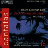 Bach: Cantatas Vol 16 - Cantatas from Leipzig 1723 / Suzuki et al