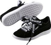PUMA Vikky Ribbon Bold Sneakers Dames - Black-Black