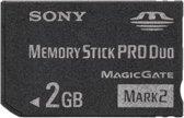 Sony Memory Stick PRO duo kaart 2 GB