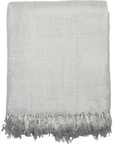 Mars & More Gypsy Throw - Kleed - 180x130 cm - Wit