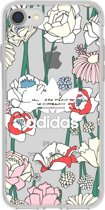adidas Originals clear case bohemian - transparant - voor Apple iPhone 7/8