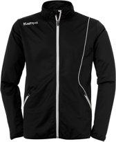 Kempa Curve Classic  Trainingsjas - Maat XXXL  - Mannen - zwart/wit