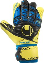 Uhlsport Keepershandschoenen - Unisex - geel/zwart/blauw Maat 10 1/2