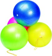 Toys Pure Punch En Play Bal: Geel 25 Cm