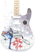 Mini gitaar Pink Floyd Tribute The Wall