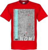 Pennarello Geoff Hurst 1966 Classic Goal T-Shirt - L