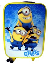 "Minions ""Chaos"" Trolley - Kinderkoffer - 40 cm - Geel/Blauw"
