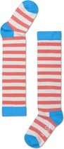 Happy Socks Kids Kniekousen Stripes - Maat 24-26