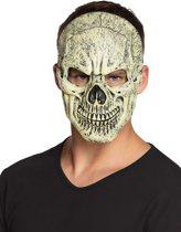 Doodskop gezicht masker - Verkleedmasker