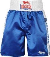 Lonsdale Pro Large Logo Trunks Blue/White L - Boksbroek - Maat L
