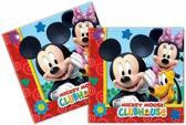 Mickey Mouse Servetten Club House - 20 stuks