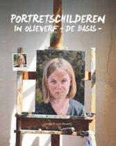 Portretschilderen in olieverf