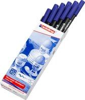 Edding 4200 porseleinstift blauw (003)