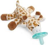 Wubbanub Giraffe - Speenknuffel - De knuffelspeen is BPA vrij - ASTM getest en gecertificeerd!