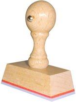 Handstempel 55x30 Mm | Stempel laten maken | Stempel met uw afbeelding en tekst | Bestel nu!