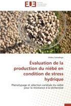 �valuation de la Production Du Ni�b� En Condition de Stress Hydrique
