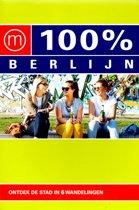 100% Berlijn - Ontdek de stad in 6 wandelingen (stadsgids 2018 editie)e