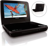 Philips PD7001 - Portable DVD-speler - 7 inch - Zwart