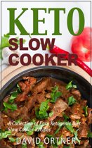 Omslag van 'Keto Slow Cooker: A Collection of Easy Ketogenic Diet Slow Cooker Recipes'