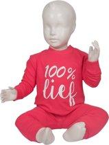 Fun2Wear Pyjama 100% Lief roze maat.62