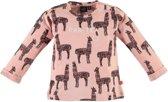 Babyface Meisjes T-shirt - Roze - Maat 92