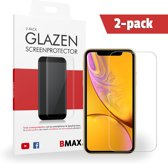 2-pack BMAX iPhone XR Glazen Screenprotector | Beschermglas | Tempered Glass