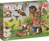 Rien Poortvliet, Bij de Kabouters in het Bos 1000 stukjes