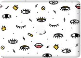 Lunso - vinyl sticker - MacBook Pro 13 inch (2016-2019) - Eyes