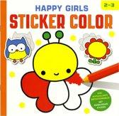 Happy girls Sticker Color (2-3 j.)