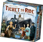 Ticket to Ride Rails & Sails - Engelstalig Bordspel