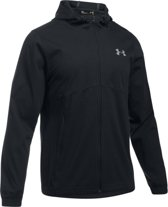 Under Armour Spring Swacket FZ- Sporttrui - Heren - Maat S - Zwart