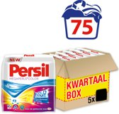 Persil Megaperls Color waspoeder - 75 wasbeurten - Kwartaalbox