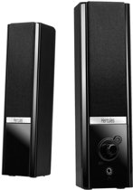 Hercules 2.0 Gloss - 2.0 Speakerset - Zwart