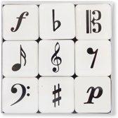 Minimagnet box Music symbols