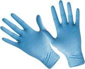 100 stuks - Handschoenen - latex - blauw - maat XL - dispenserdoos