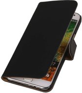 Wicked Narwal | bookstyle / book case/ wallet case Hoes voor Samsung Galaxy E7 Zwart