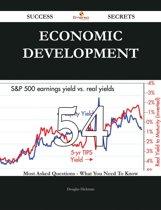 Economic development 54 Success Secrets - 54 Most Asked Questions On Economic development - What You Need To Know