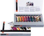 Cobra Artist watervermengbare olieverf value pack 10 x 40 ml en accessoires