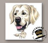 Tegel Hond Golden Retriever
