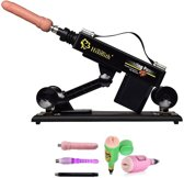 Hismith BASIC - Pakket Brad - Seks Machine - Sexmeubel - Sex Machine - Met dildo en vele extra's