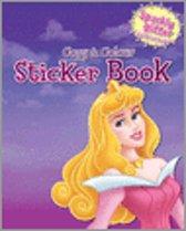 Disney Princess Copy Colour Sticker Book