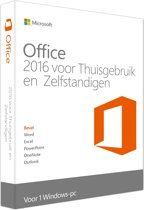 Microsoft Office 2016 Home & Business - PC