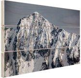 Himalaya gebergte India Hout 80x60 cm - Foto print op Hout (Wanddecoratie)