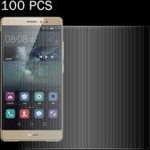 Let op type!! 100 stuks voor Huawei Mate S 0 26 mm 9H oppervlaktehardheid 2.5D explosieveilige gehard glas scherm Film