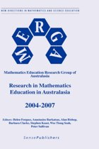 Research in Mathematics Education in Australasia 2004 - 2007